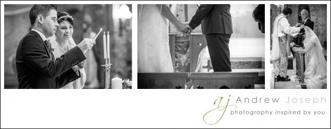 wedding in Pilar church