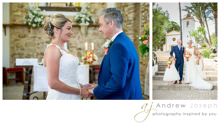 a wedding in Finca Rebate