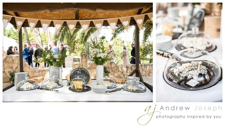 a wedding in Finca Rebate