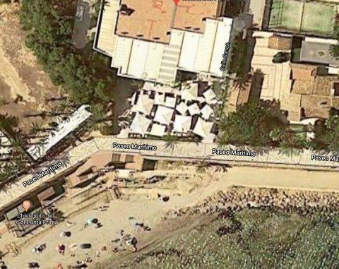Google maps view of Restaurante Punta Prima