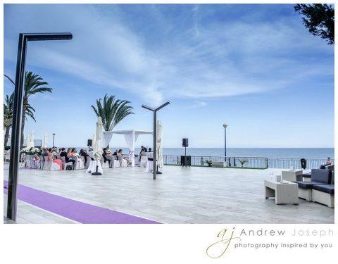 Wedding at Punta Prima Restaurant